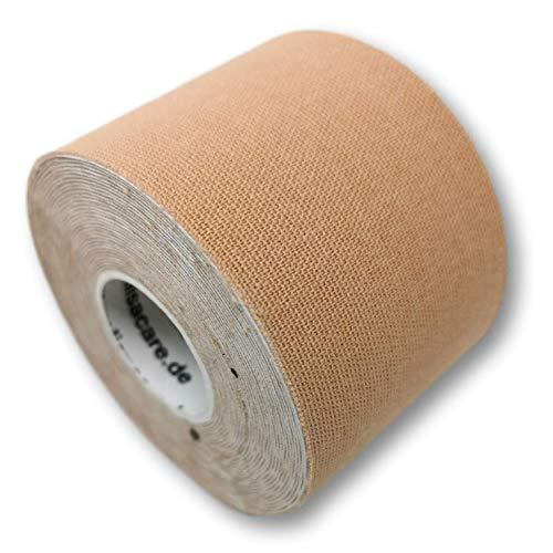 LisaCare Klebe BH Push up transparent - 1x Rolle Body Brust-Tape & 2 versch. Paare Brustwarzen Abdeckung - Brustband BH (Beige)
