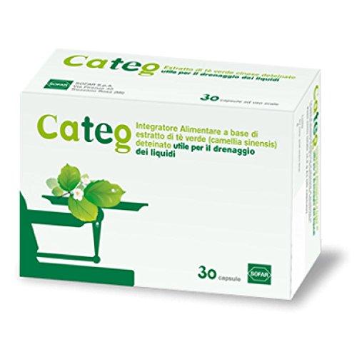 CATEG Estratto di tè verde - 30 capsule