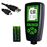 Digital Coating Thickness Gauge CM-208FN / Automatic Thickness Paint Meter for Steel and A...