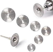 6 pcs Mini HSS Circular Saw Blade Rotary Tool For Metal Cutter Power Tool Set Wood Cutting Discs Drill Woodworking Tool