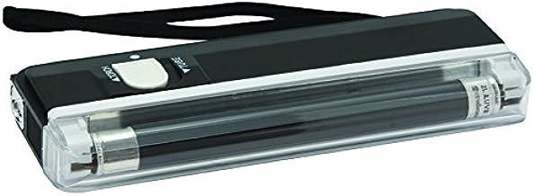 Velleman ZLUVB Mini Ultraviolet Lamp Plus Zaklamp, Zwart