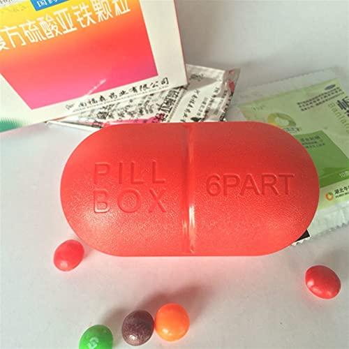 Botiquin 1 unids Mini linda caja de pastillas Color de caramelo para caja de pastillas Caja de medicina plástica Organizador de almacenamiento plegable Caja de medicina Recipiente de medicamentos