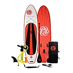 JFL inflatable paddle board as one of the best stand up paddle boards