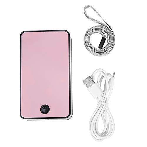 Cils de ventilateur USB portable ventilateur de cils Mini ventilateur Climatiseur Ventilateur greffé Extension de cils Sécheur (Couleur : Rose)