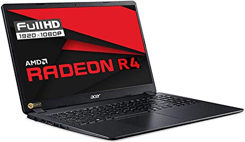 Notebook SSD Acer A6-9220E, RAM 12GB, SSD 256GB M2, Display 15.6' Full HD LED, Svga Radeon R4 CORES 2C 3G, 3 USB, Wi-Fi, hdmi, BT, LAN, Win 10 PRO, Libre Office, Pronto all'Uso, Gar. Italia