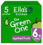 Ella's Kitchen Smoothies de Frutas (The Green One) 5 x 90g