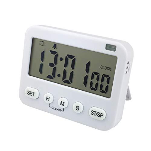 Digital Kitchen Cooking Timer Timer Größeres, übersichtliches LCD-Display mit einfacher Anzeige, Magnetische Countdown-Uhr Lauter Wecker Laut bis zu 99 Min. 59 Sek