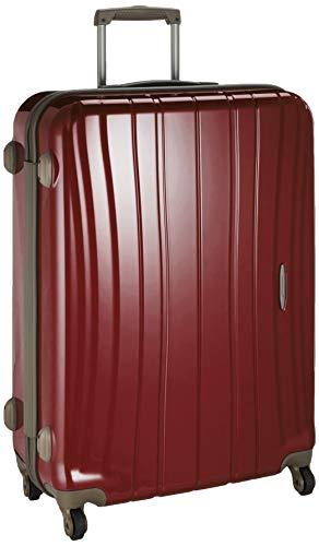 [プロテカ] スーツケース 日本製 フラクティ5 サイレントキャスター 89L 5.3kg コロナレッド
