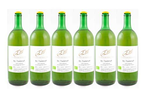 BIO-Weingut Ettl Traubensaft weiss Neusiedlersee (6 x 1 Liter)
