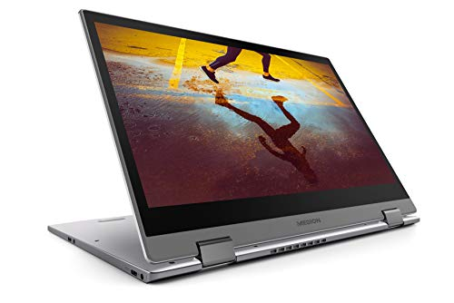 Medion S4401 MD61535 - Ordenador portátil de 14' FHD (Intel Core i7-8550U, 8 GB RAM, 512 GB SSD, Windows 10) - Teclado QWERTY Español