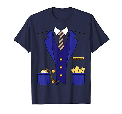 Schaffner Kostüm Train Conductor Costume Locomotive T Shirt
