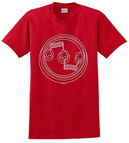 Dual Coil RDA Mod Vaporizer Vape Vaping Vaper T-Shirt 4XL Red