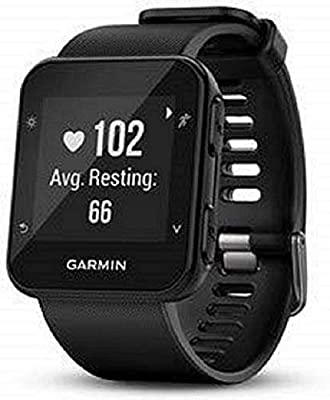 Garmin Forerunner 35 GPS Running Watch with Wrist-Based Heart Rate and Workouts - Black
