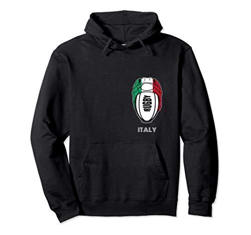 Tifosi italiani maglia unione kit regalo Italia rugby fan Felpa con Cappuccio