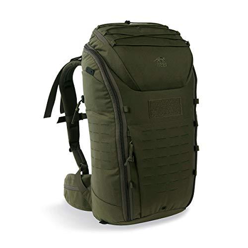 Tasmanian Tiger TT Modular Pack 30 Daypack Wander-Rucksack mit 30 Liter Volumen inkl. Organizer Zusatz-Taschen Set für mehr Ordnung, Oliv