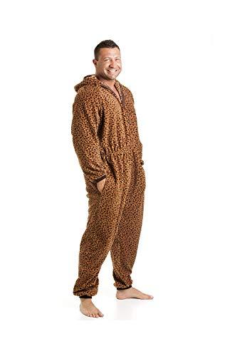 Camille - Pijama Polar de una Pieza de Hombre - Estampado de