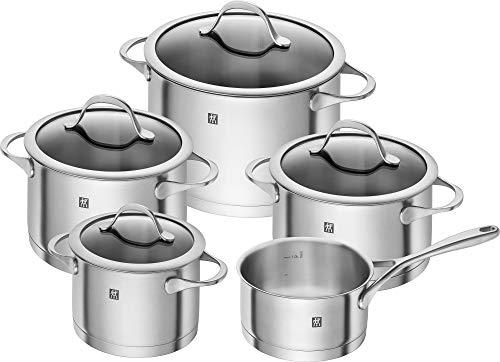 6. Zwilling Essence – Juego de ollas de acero inoxidable