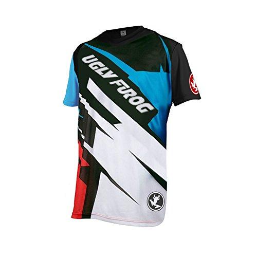Uglyfrog Designs Bike Wear Hombres Ciclismo Jersey Downhill/MTB Motos, Accesorios y Piezas Camisetas Road Race para Ciclismo Soporte a Lot of Styles Manga Corta Transpirable Verano Style