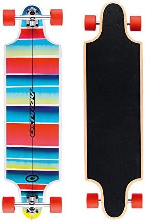 Osprey Complete Twin Tip Longboard Skateboard - Multiple Styles