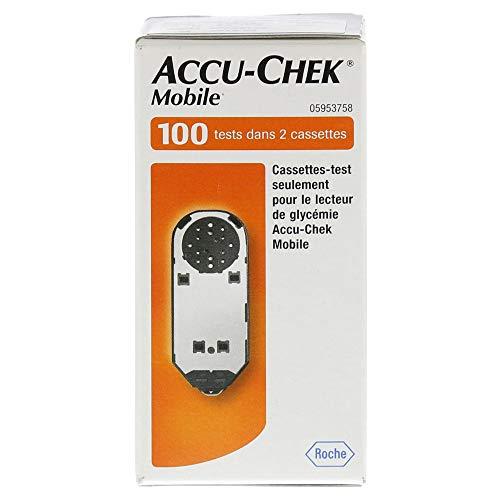 ACCU CHEK Mobile Testkassette Plasma II 100 St