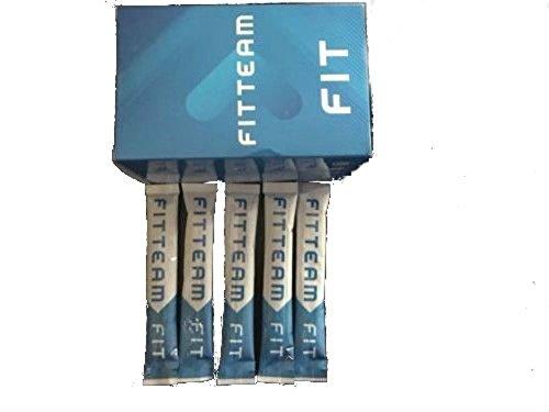 Energy Weight Loss Drink Fitteam Fit Sticks Sample Pack,Organic, GF, DF Vegan - 5 Sticks