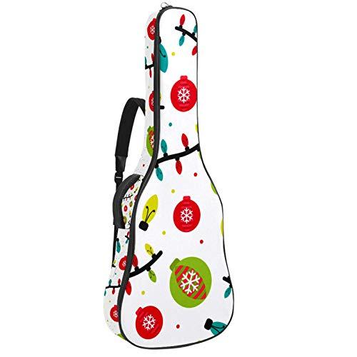 Bennigiry Christmas Lantern_Mesa De Trabajo - Bolsa de guitarra acústica para guitarrista