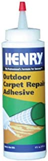 Henry, WW Company 12221 6 OZ, Ready to Use Squeeze Bottle, Outdoor Carpet Repair Adhesive