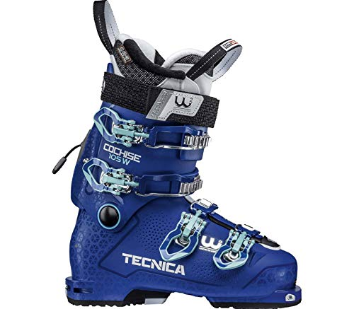 Moon Boot Tecnica Cochise Dyn 105 Femmes Bottes Ski Bleu 25