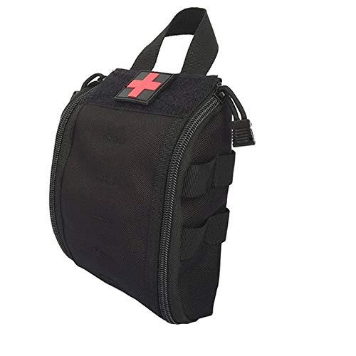Fanny poacks Las bolsas tácticos - Utilidad médica compacto táctico de EMT de la bolsa MOLLE Militar de Emergencias bolsa de primeros auxilios Kits supervivencia al aire libre Caza Medic bolsa Resiste