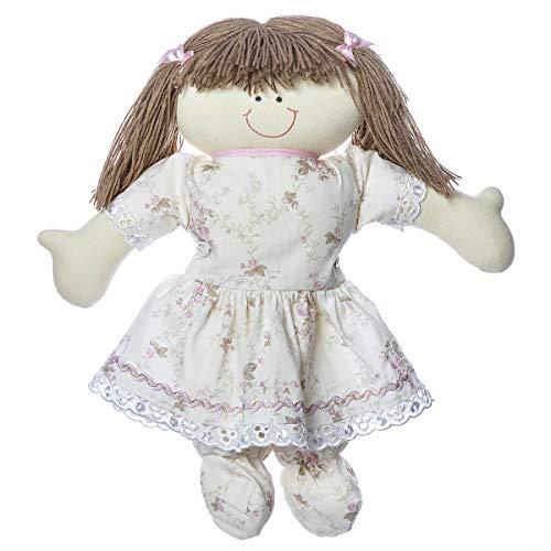 Boneca Dani, Quarto Bebê Infantil Menina, Potinho de Mel, Rosa