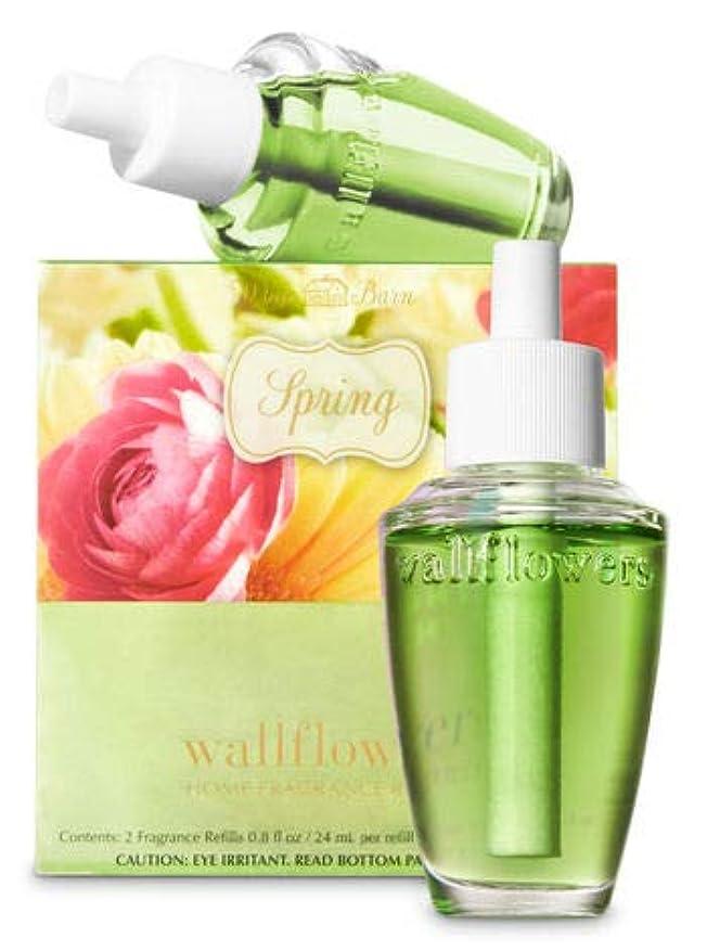 西航空強風【Bath&Body Works/バス&ボディワークス】 ルームフレグランス 詰替えリフィル(2個入り) スプリング Wallflowers Home Fragrance 2-Pack Refills Spring [並行輸入品]