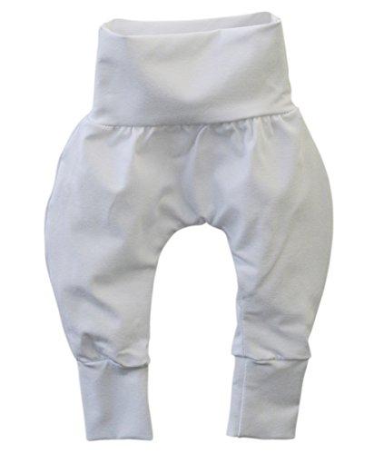 Anns Fashion - Pantalon - Bébé (Fille) 0 à 24 Mois - Blanc - 62/68 cm