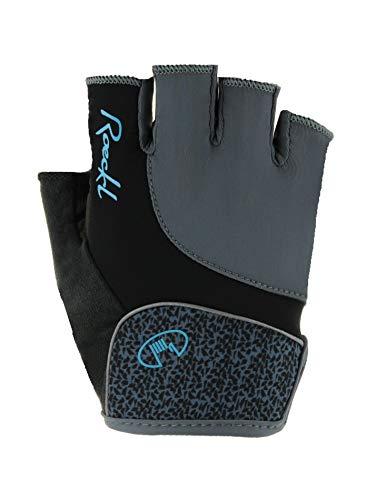 Roeckl Damen Dana Handschuhe, grau, 6