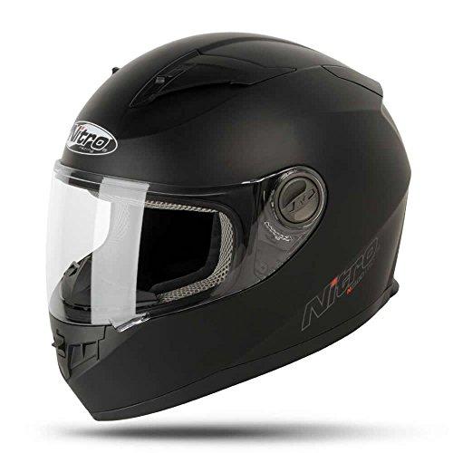 Nitro 187147M02Casco Moto N2100uno Negro Negro Mate