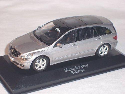 MERCEDES-BENZ R-KLASSE W251 CUBANIT SILBER 1/43 MINICHAMPS MODELL AUTO MODELLAUTO SONDERANGEBOT