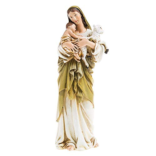 6' Madonna and Child with Lamb Statue Catholic Gift