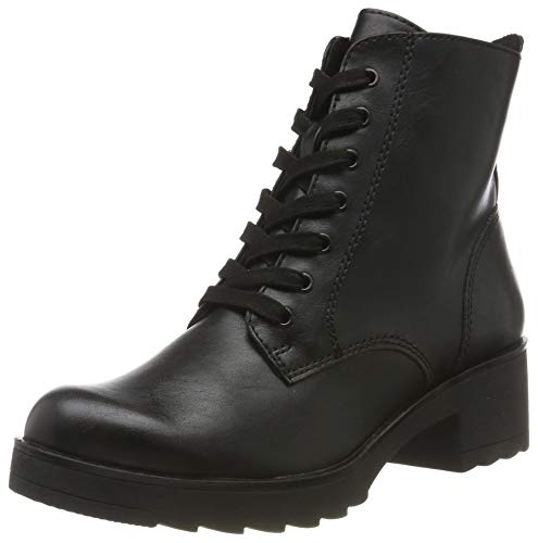 MARCO TOZZI Damen 2-2-25262-33 Biker Boots, Schwarz (Black Antic 002), 39 EU