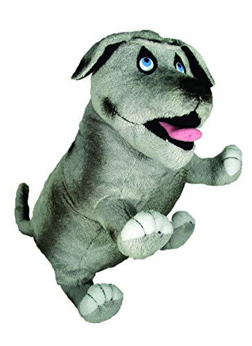 MerryMakers Walter the Farting Dog Plush Toy, 8-Inch