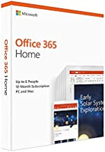 Microsoft Office 365 Home, For Mac / Windows, English Subscription, Middle East Version, 1 Year License [6GQ-00990-LS]