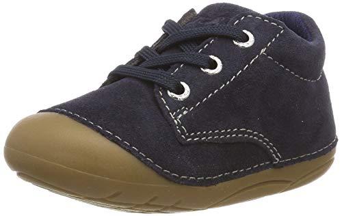 Lurchi Unisex Kinder FLO Sneaker, Blau (Navy 22), 18 EU