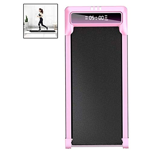 Mini Walking Treadmill Household Running Machine Light and Portable with LED Touch Screen Intelligent Speed Control Loses Weight