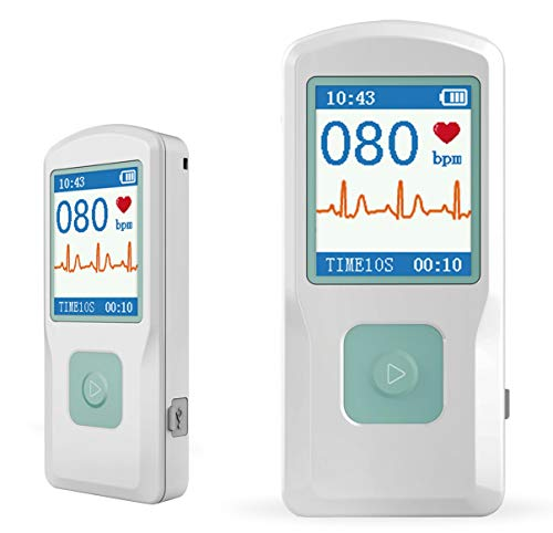 Facelake FL10 Portable ECG/EKG Monitor with Bluetooth for iOS and Android