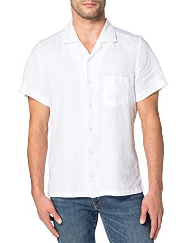 BOSS Rhythm 10169252 04 Camisa, White100, M para Hombre
