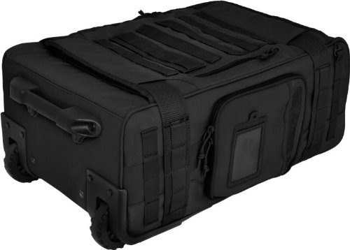 Air Support(TM) Rugged Rolling Carry-On by Hazard 4(R) - Black