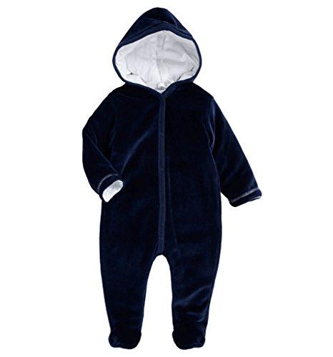Dirkje - Salopette - Combinaison - Bébé (garçon) 0 à 24 mois bleu bleu nuit S - bleu - 3 mois
