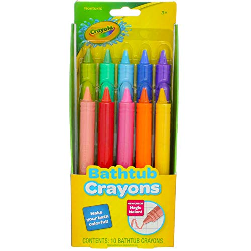 Play Visions Crayola Bathtub Crayons, 9 Count (Pack of 2)