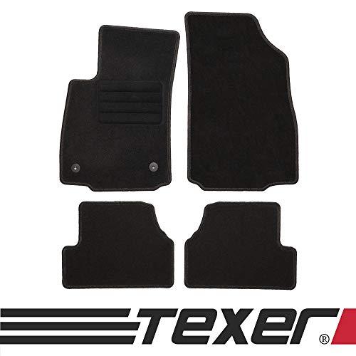 CARMAT TEXER Textil Fußmatten Passend für Opel Mokka Bj. 2012- Basic