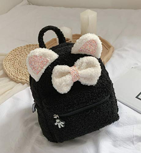 Cute Baby Kids Plush Backpack Bow School Bag School Outdoor Travel Bag Student Kindergarten Soft Backpack-11Cm-30Cm_China_1