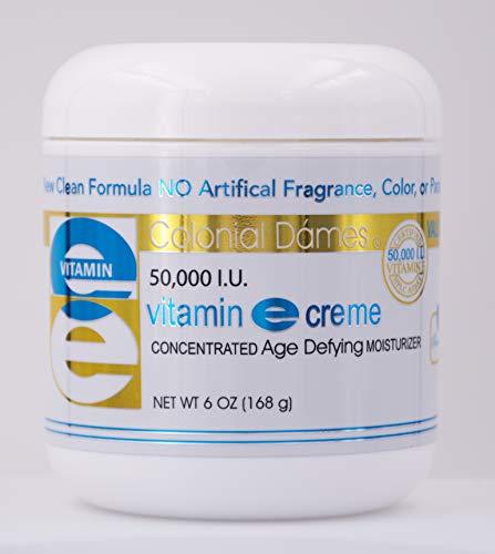 Colonial Dames VALUE SIZE Vitamin E Cream 50,000 I.U. 6 oz