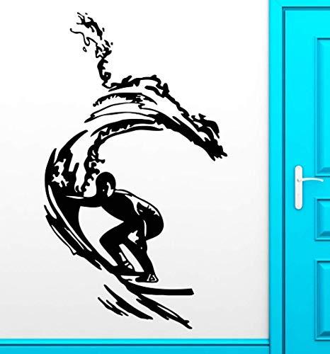 Wandaufkleber, Kunst Abziehbild Dekor Poster Abnehmbar Zuhause Leben BuumlRo Fenster Dekoration WandgemaumlLde Personalisierte Piraten Anker Vinyl Meer nautisch fuumlr Jungen Zimmer Baby 56 x 71 cm